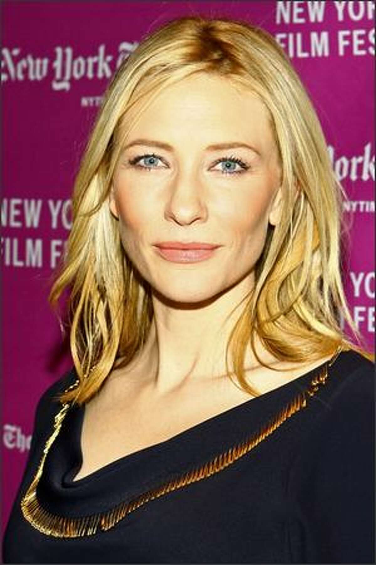 Actress Cate Blanchett attends the New York Film Festival screening of