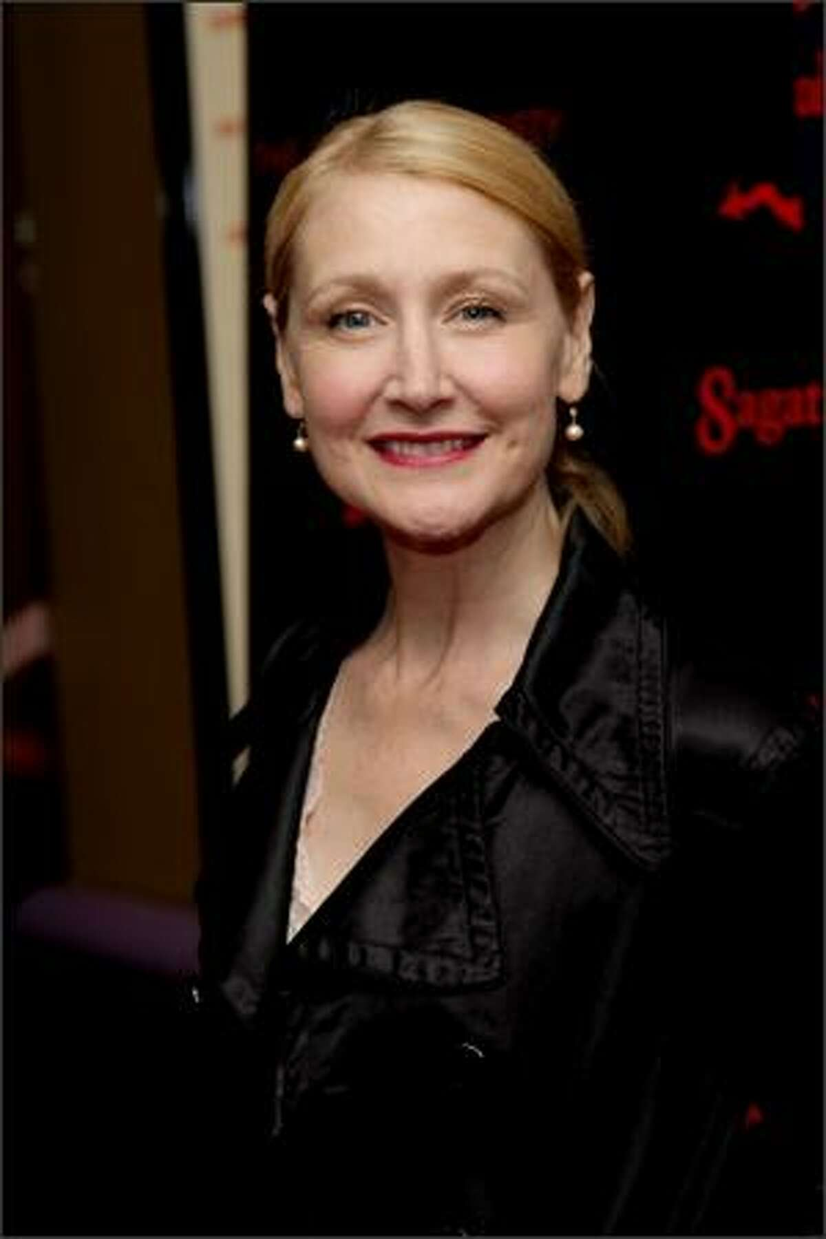 Actress Patricia Clarkson attends the New York premiere of
