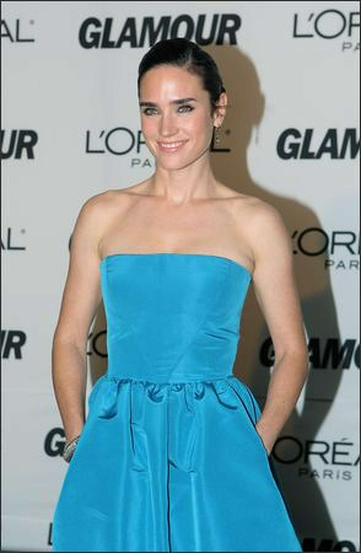 US actress Jennifer Connelly arrives for the 2007 Glamour Magazine Women of the Year Awards in New York on Monday. US Actress Jennifer Garner was named Glamour Woman of the Year, selected as the person who best presents an example of a woman with a