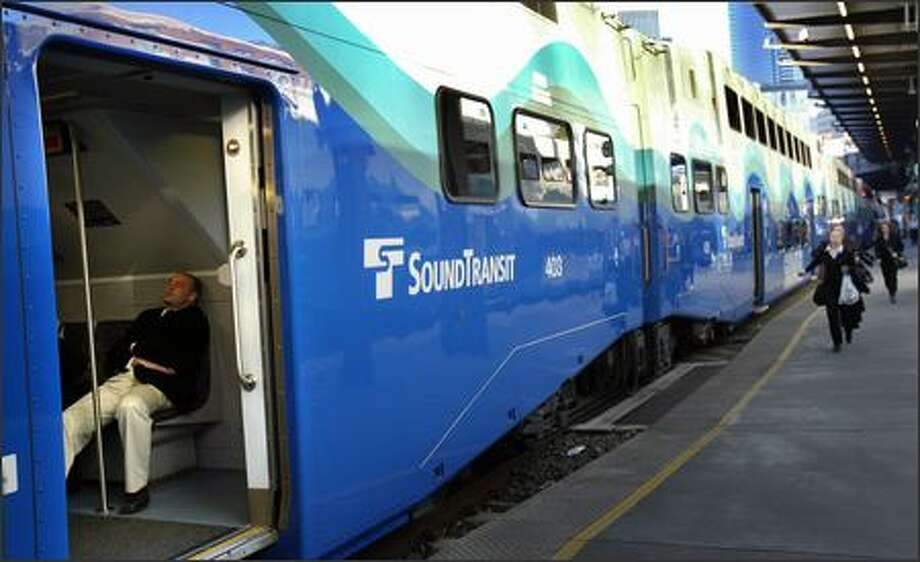 Sounder train service between Lakewood and Seattle was disrupted Thursday morning following a fatal accident on the tracks. Photo: Joshua Trujillo, Seattlepi.com