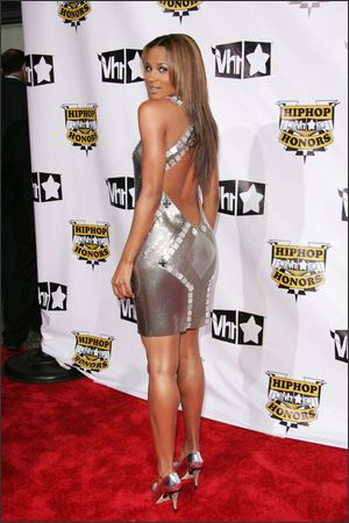 Singer Ciara attends the 4th Annual VH1 Hip Hop Honors ceremony at the Hammerstein Ballroom on October 4, 2007 in New York City.