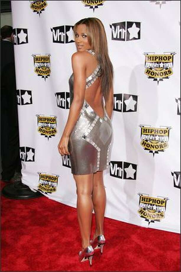 Singer Ciara attends the 4th Annual VH1 Hip Hop Honors ceremony at the Hammerstein Ballroom on October 4, 2007 in New York City. Photo: Getty Images