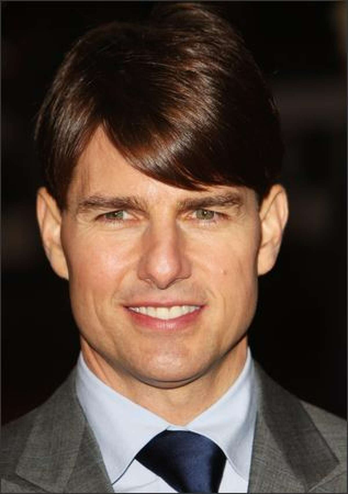Actor Tom Cruise arrives at The Times BFI 51st London Film Festival gala screening and world premiere of 'Lions for Lambs' at the Odeon Leicester Square in London, England.