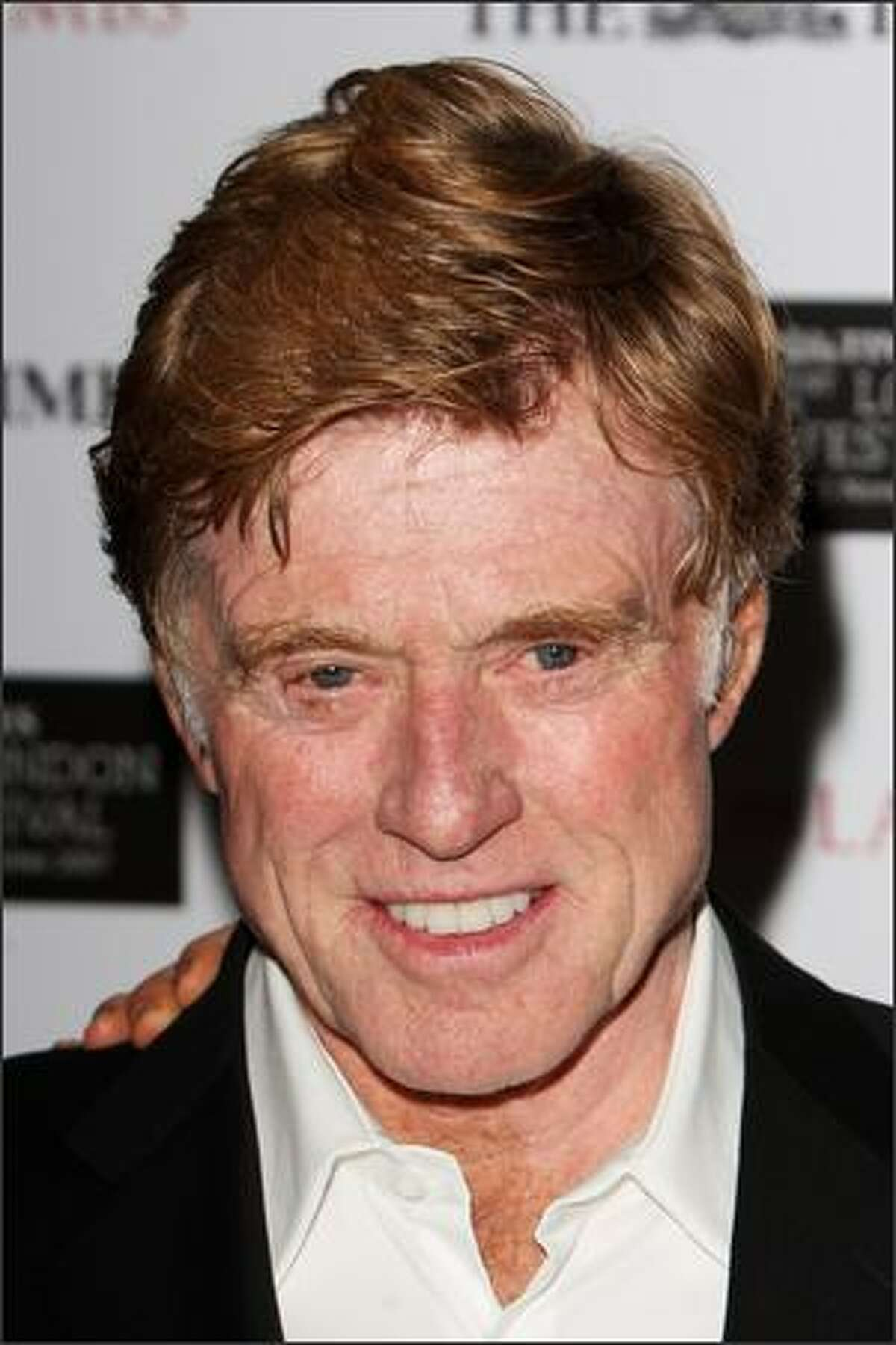 Actor Robert Redford attends The Times BFI 51st London Film Festival gala screening and world premiere of 'Lions for Lambs' at the Odeon Leicester Square in London, England.