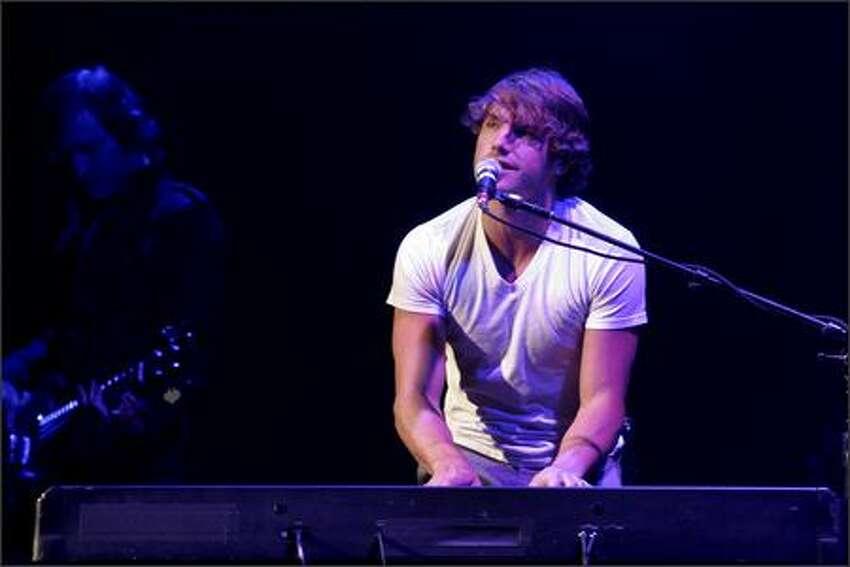 Opening for Clarkson singer-songwriter Jon McLaughlin.