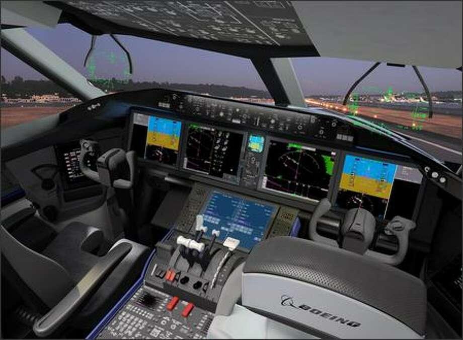 Aerospace Notebook: 787 pilots get bigger, better view