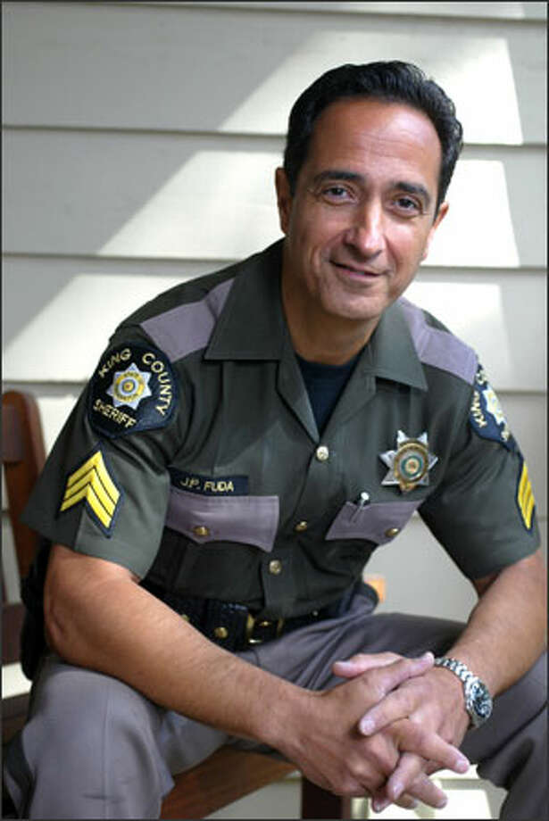 Sgt. Jim Fuda is a respected hostage negotiator with the King County Sheriff's Office and hopes to replace his boss. Photo: Karen Ducey/Seattle Post-Intelligencer
