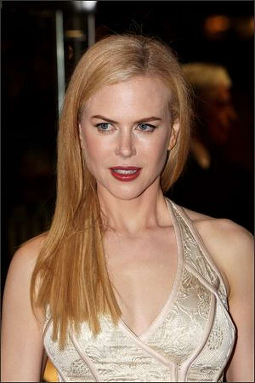 Actress Nicole Kidman arrives at the world premiere of
