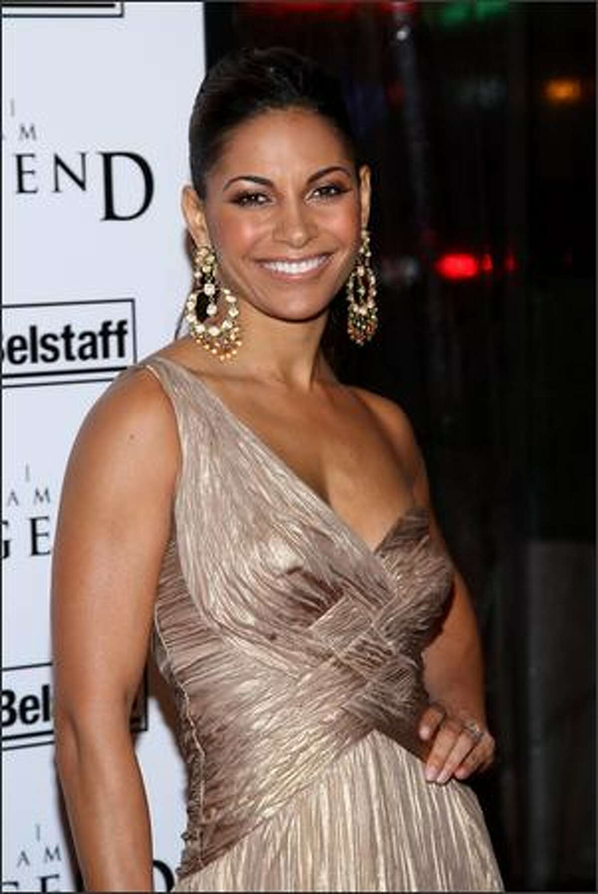 Actress Salli Richardson attends Warner Brothers New York premiere of