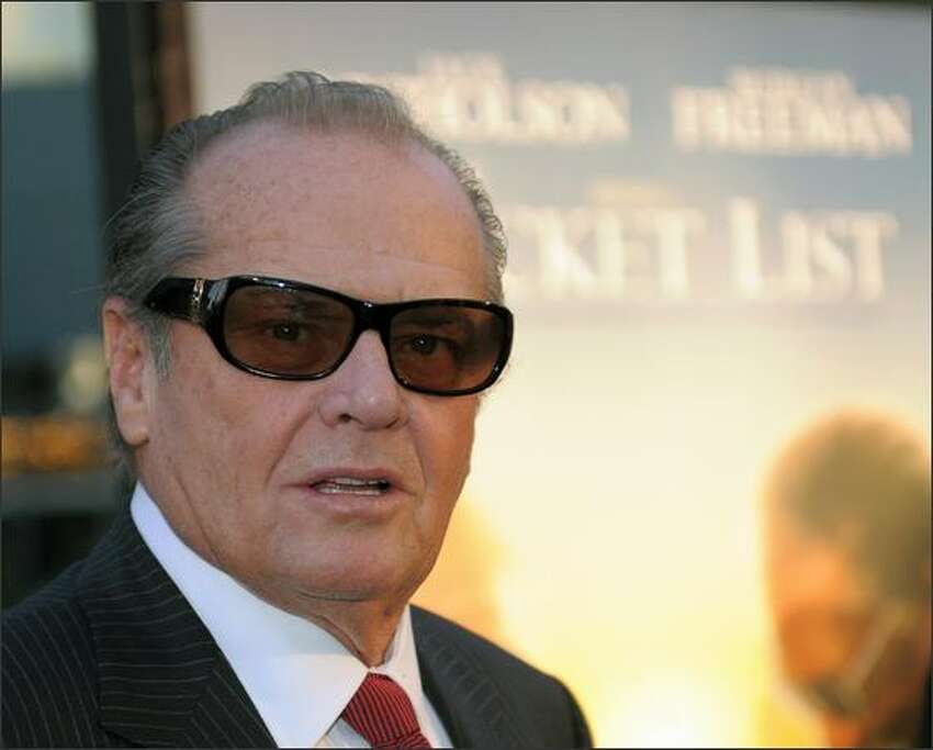 Actor Jack Nicholson arrives at the premiere of