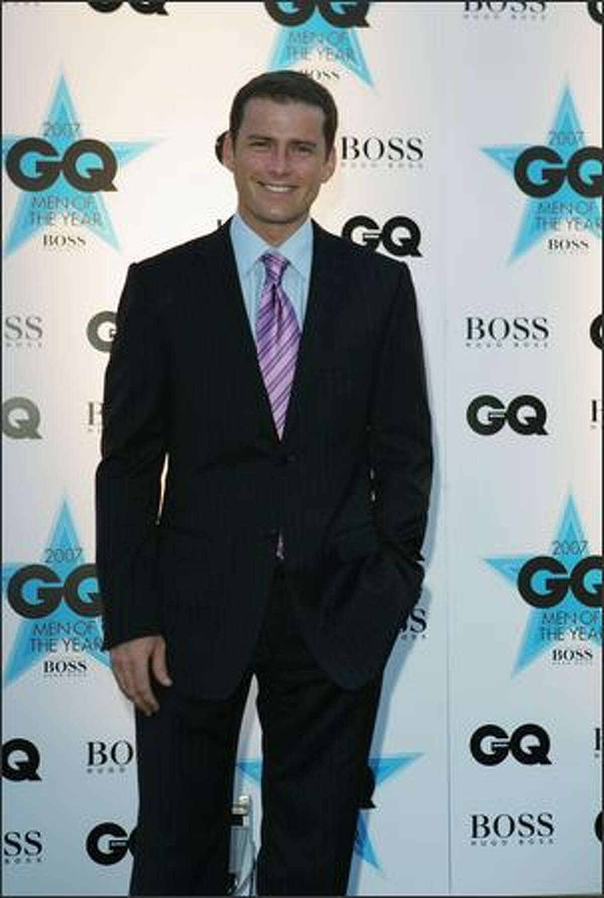 TV Personality Karl Stefanovic attends the GQ Men of the Year Awards at Fox Studios on Tuesday in Sydney, Australia.