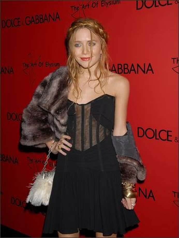 Actress Mary-Kate Olsen arrives at the announcement of the charity collaboration between fashion designers Dolce & Gabbana and actress Penelope Cruz to benefit The Art of Elysium at the Chateau Marmont on December 13, 2006 in Los Angeles, California. Mary-Kate Olsen is on Mr. Blackwell's 48th annual worst-dressed list. Photo: Getty Images