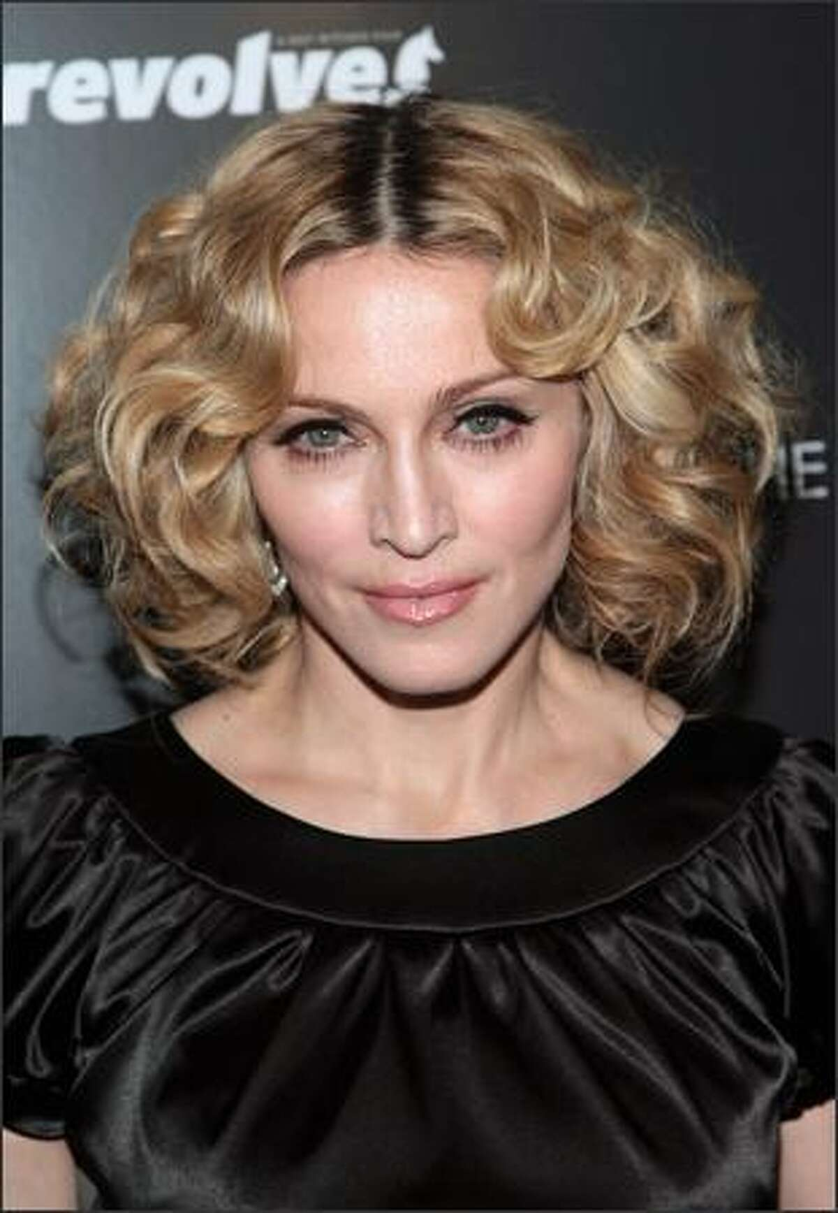 Musician Madonna attends a screening of
