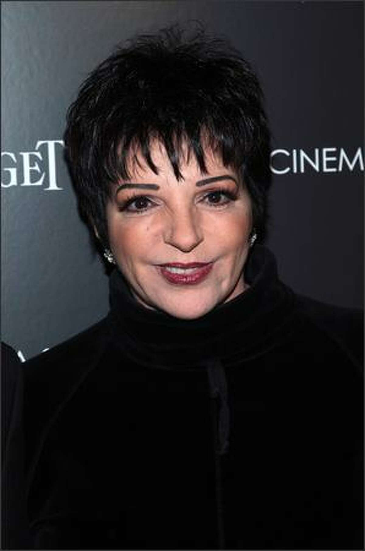 Actress/singer Liza Minnelli attends a screening of