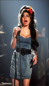 Amy Winehouse performs during the show at the MTV Europe Music Awards 2007 at the Olympiahalle on Nov. 1, 2007 in Munich, Germany. Photo: Getty Images