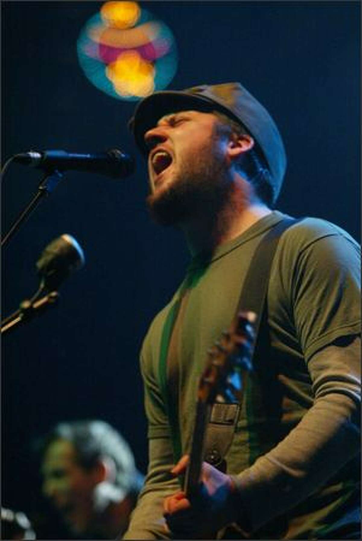 Modest Mouse lead singer Issac Brock.