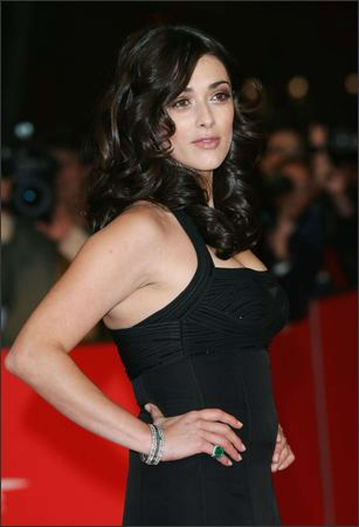 Valentina Lodovini attends the La Giusta Distanza Premiere on day 2 of the 2nd Rome Film Festival on October 19, 2007 in Rome, Italy.