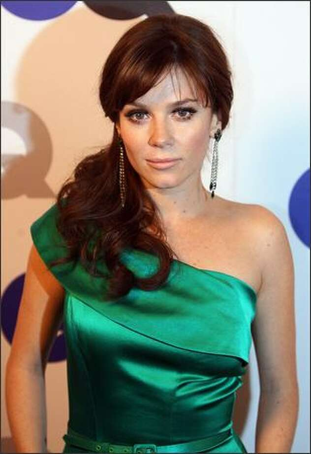 Anna Friel arrives. Photo: Getty Images