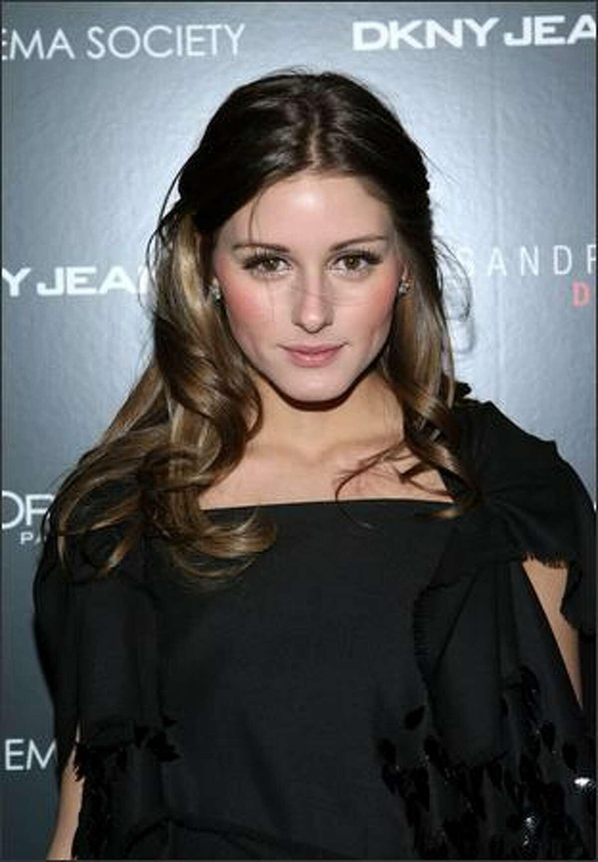 Olivia Palmero attends the New York screening of