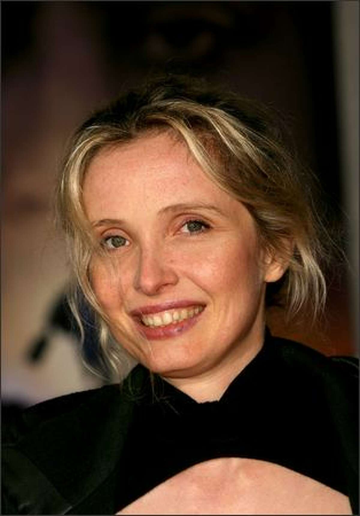 Actress Julie Delpy arrives at the premiere of Miramax Films'
