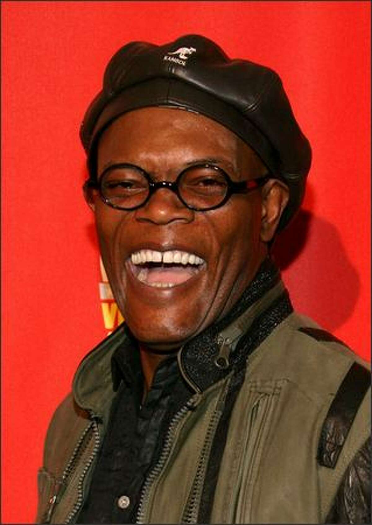 Actor/host Samuel L. Jackson arrives at Spike TV's 2007