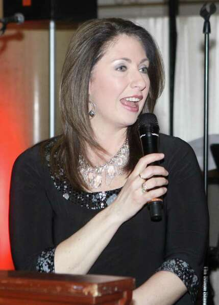 News10 ABC anchor/reporter and event emcee Lydia Kulbida during Hearts on Fire, the American Hear