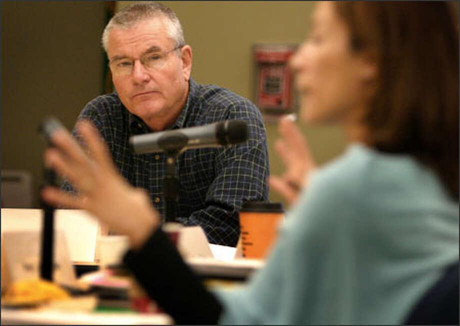 Now retired, John Warner is busy working to improve public education. Photo: Joshua Trujillo/Seattle Post-Intelligencer / Seattle Post-Intelligencer