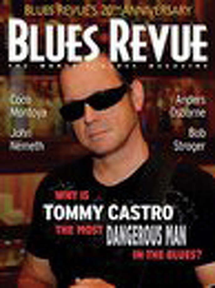 Blues guitarists Tommy Castro and Johnny A. will perform Sunday night at the Fairfield Theatre Co. Photo: Contributed Photo / Fairfield Citizen contributed