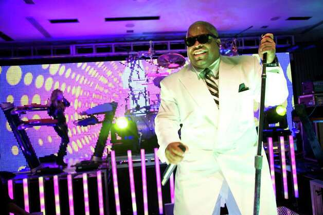 FILE -- Cee Lo Green performs at the W Hotel in New York, on Nov. 12, 2010. Green currently has a top 10 song that is one of three current top 10s to contain a four-letter curse word in its uncensored version. (Deidre Schoo/The New York Times) Photo: DEIDRE SCHOO, STR / NYTNS