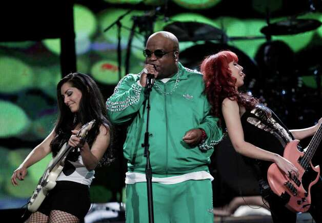 Cee Lo Green performs at the NBA basketball All-Star Saturday Night, Saturday, Feb. 19, 2011, in Los Angeles.  (AP Photo/Jae C. Hong) Photo: Jae C. Hong, STF / AP