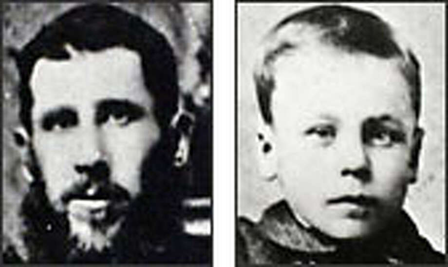 John E. John and his 18-year-old son Evan John (photo at younger age) were among the 37 killed in the Franklin mine disaster in 1894.