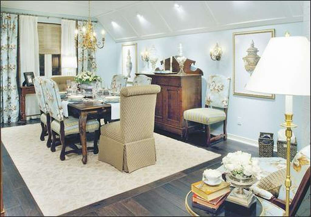 A Dining Room That Had Become Dumping Ground Is Transformed Into Formal Eating Area