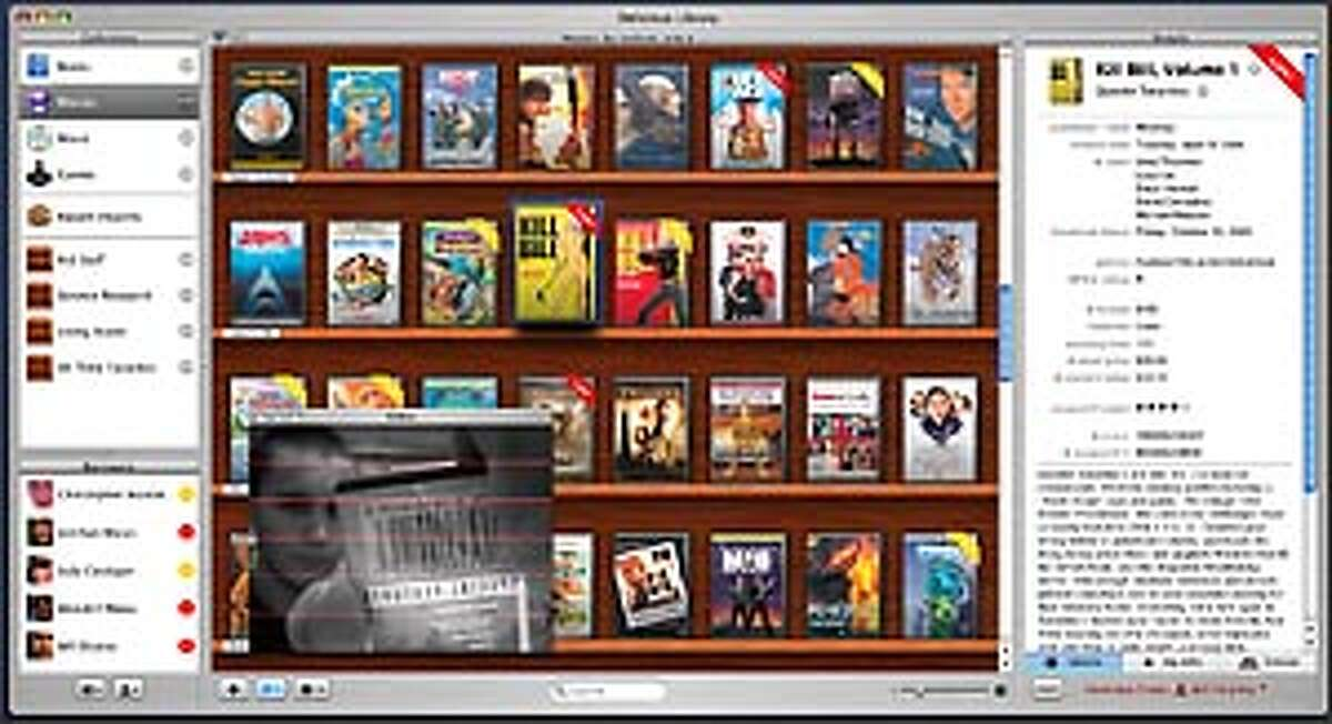 Delicious Library helps Mac users organize their books, CDs, movies and video games. See full-size screenshot.