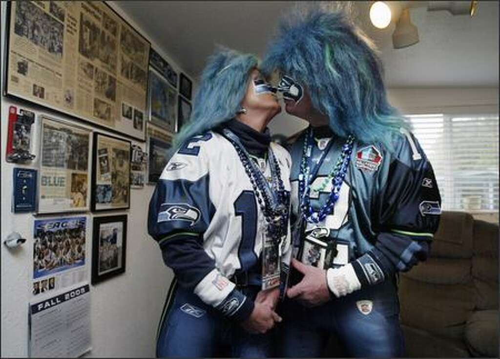 Seattle Seahawks Face Paint Two-Pack
