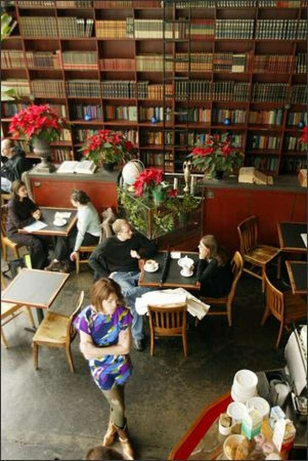 Bauhaus Books and Coffee. Photo: Phil H. Webber/Seattle Post-Intelligencer