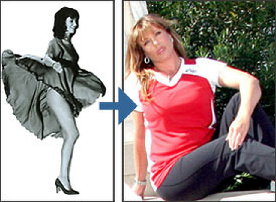 Kelly Le Brock, then and now.
