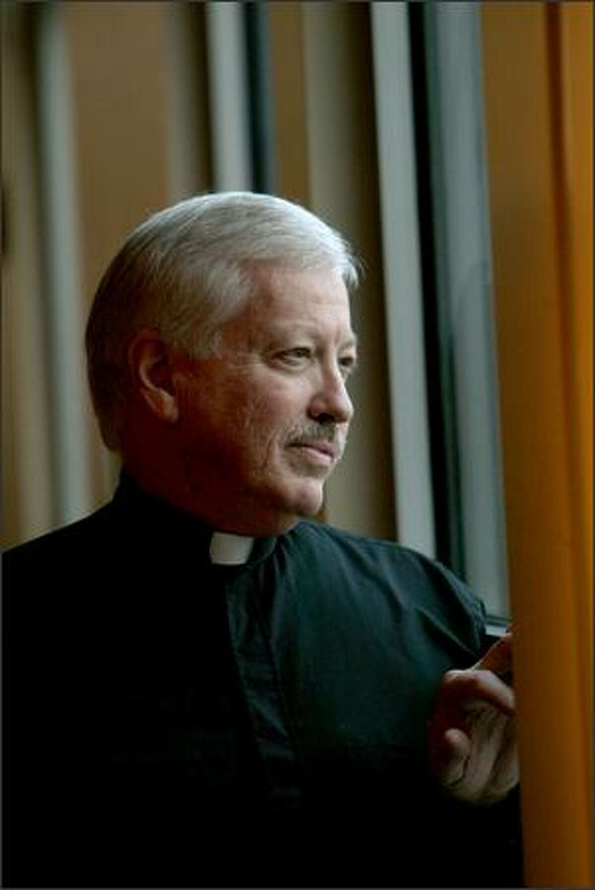Vincent Lachina is a chaplain at Seattle's Planned Parenthood.