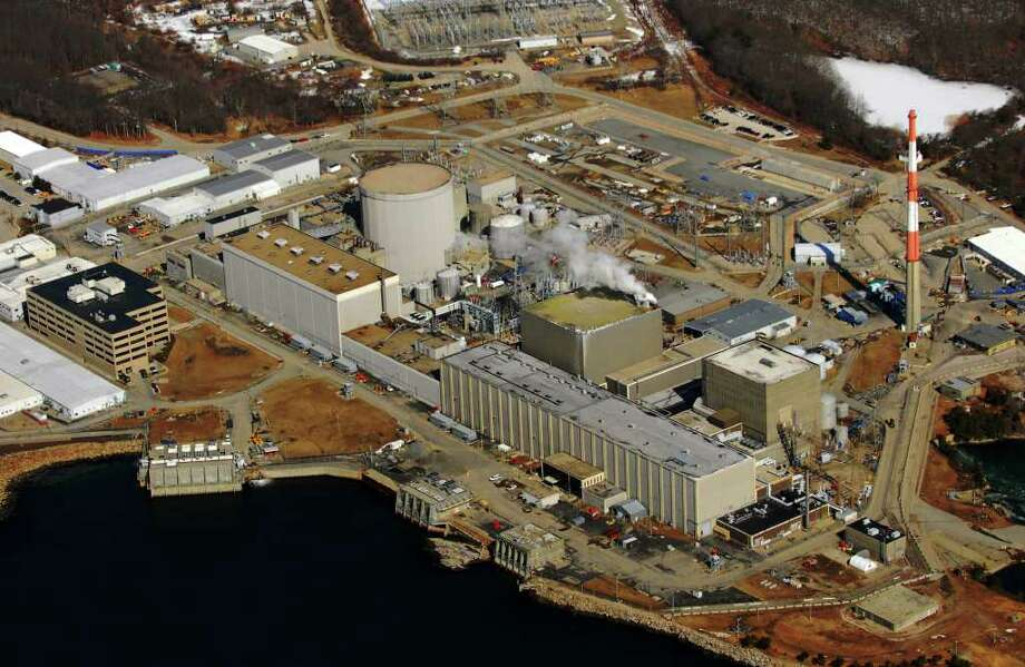Aerial photo by Morgan Kaolian/AEROPIX Millstone Nuclear Power Plant in Waterford, Conn. Feb. 24th, 2011. Photo: Morgan Kaolian/AEROPIX / Morgan Kaolian AEROPIX