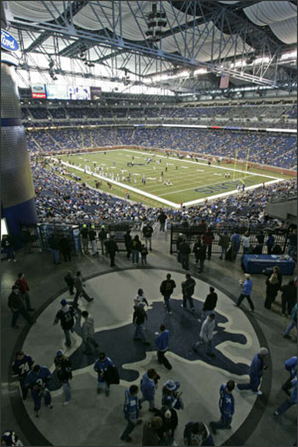 Detroit was chosen to host a Super Bowl in northern climes largely because it has Ford Field, a new domed stadium. Photo: /Associated Press / AP