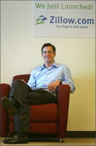 Rich Barton, former Expedia CEO who now heads online startup Zillow.com, says Zillow will transform the real estate business by providing real-time home valuations across the country. Photo: Joshua Trujillo/Seattle Post-Intelligencer