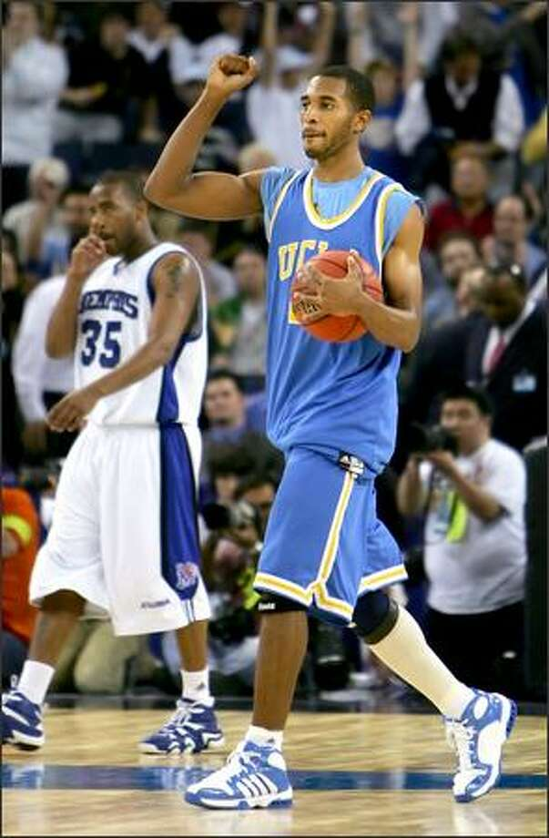 Cedric Bozeman is a big reason why UCLA is representing the Pac-10 in the Final Four this year. Photo: / George Vetter