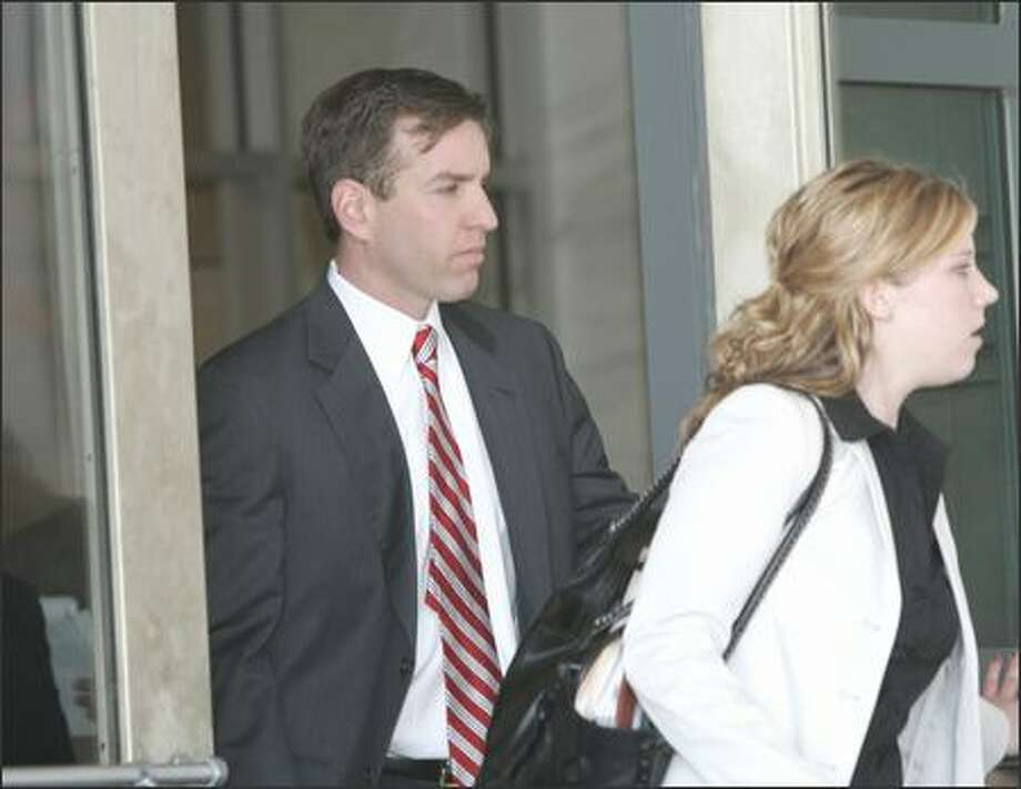 Tony Rudy, a former deputy chief of staff to Rep. Tom Delay, pleading guilty to conspiracy Friday and promised to cooperate with the governments investigation of lobby fraud. Photo: / Associated Press