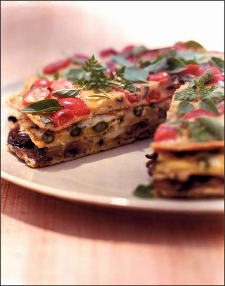 Provencal Layered Omelet Photo: /MORROW COOKBOOKS