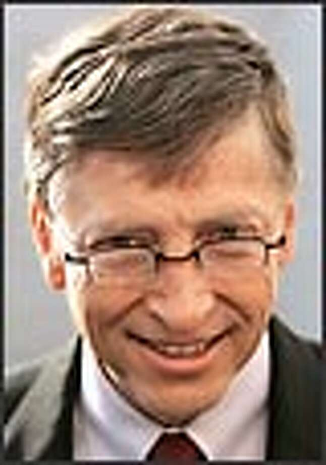 Microsoft founder Bill Gates is something of a celebrity for other celebrities, American and foreign leaders and more. Photo: Getty Images / 2006 AFP
