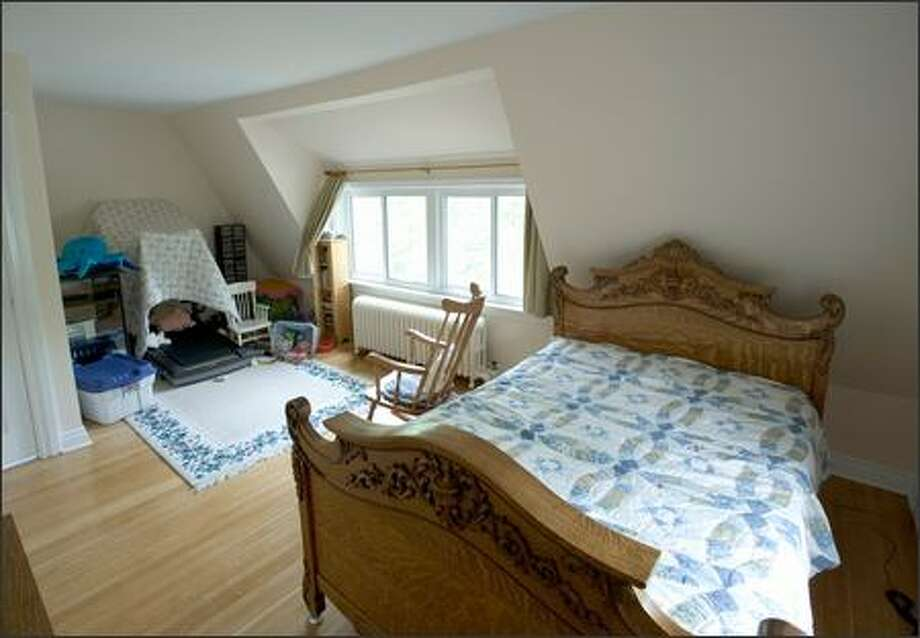 It may seem cramped to adults, but this attic space is just the right size for two young sisters. Photo: / HGTV