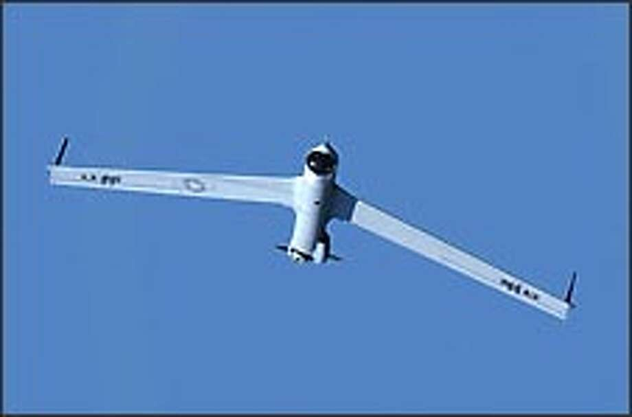 Insitu Group's ScanEagle unmanned spy plane is used by the U.S. military. Photo: Insitu Group