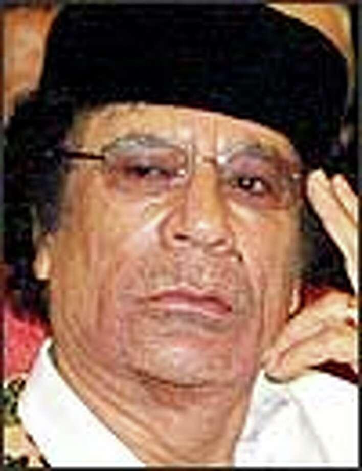 Gadhafi / AP