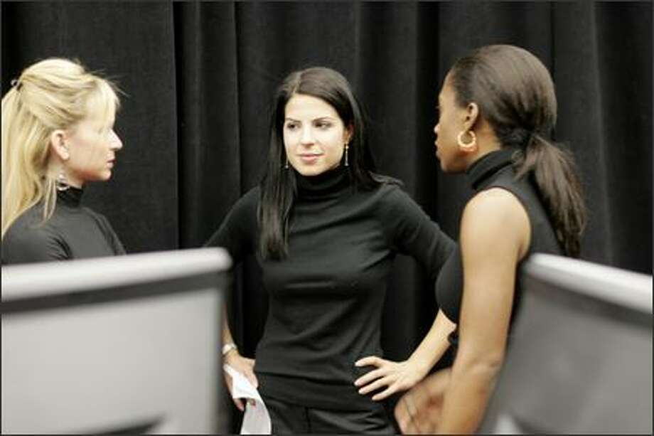 "Tammy, middle, was fired in this week's ""Apprentice"" after failing to lead Synergy teammates Tammy, left, and Roxanne. Photo: / NBC"