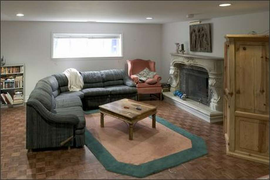 """This dingy basement was declared """"off-limits"""" to visitors. Photo: / HGTV"""