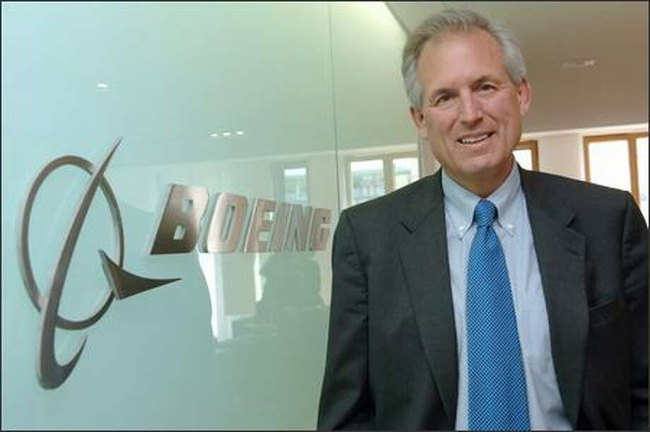 Since Chairman and Chief Executive Jim McNerney took over Boeing in mid-2005, the plane maker's stock and profit have soared. Photo: / Bloomberg News